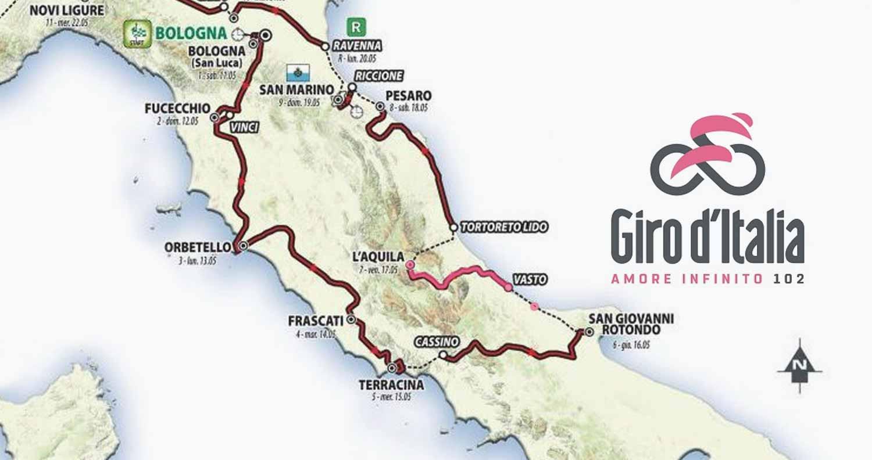 f4d54031f3 Giro d'Italia 2019 - a L'Aquila la settima tappa. - Hotel Castello ...